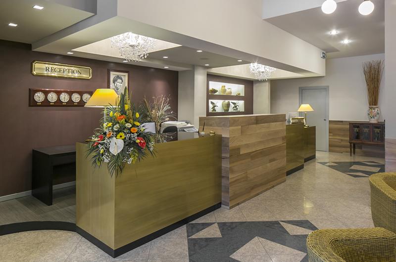Reception Hotel Falco D'Oro
