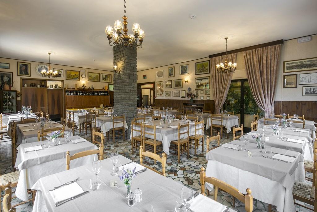 Sala Ristorante Hotel Falco D'Oro Tolè